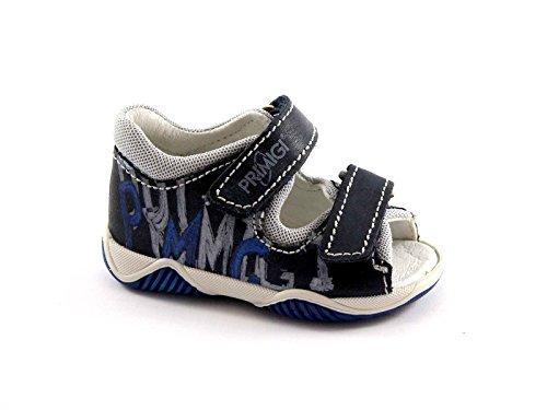 PRIMIGI 35800 blu scarpe sandali bambino tallone strappi 20