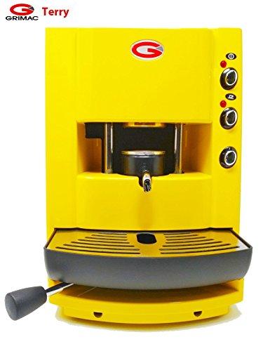 Kaffeemaschine Pads Grimac Farbe gelb