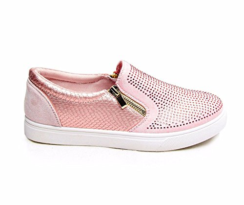 SheLikes , Damen Sneaker, rosa - Rose - Größe: 42 Rosa Rosen Swag