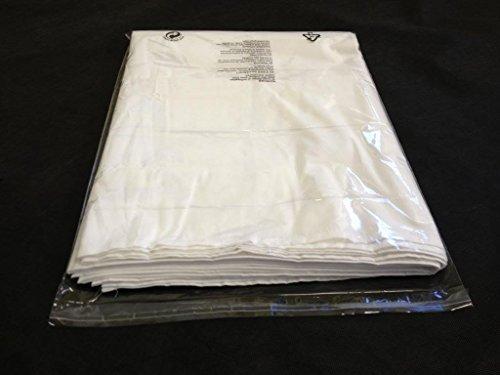 Pochettes transparentes pour vêtements, 37,5 cm x 50 cm environ, lot de 200