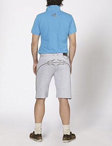 Stockerpoint Short Nash, Pantalon Homme Gris - Grau (melange)
