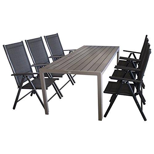 7tlg. Sitzgruppe Gartengarnitur Sitzgarnitur Terrassenmöbel ...