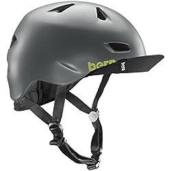 Casco para bicicleta adulto - BRENTWOOD MATTE BRIGHT - GRIS, L/XL