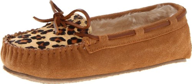 Minnetonka Leopard Cally Slipper, Zapatillas de Estar por Casa para Mujer