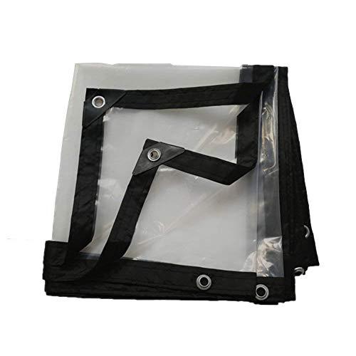 ZLZMC Tarnnetz Transparentes Plastiktuch, Starkes wasserdichtes und Regensicheres Isolierungstuch, passend für Garten im Freien (transparent) Camping Sonnenschutznetze (Size : 5 * 5m)