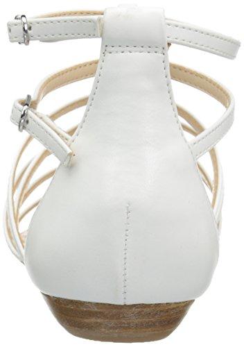 Nine West Aboutthat Sintetico Robe Sandale Blanc