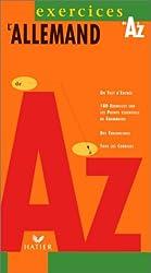 L'allemand de A à Z exercices, édition 97