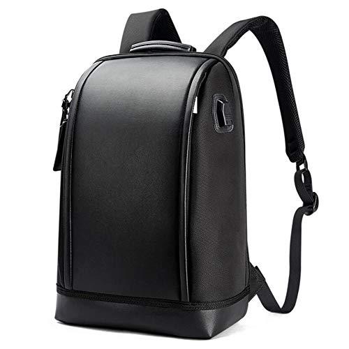 Laptop Rucksack,15,6 Zoll Laptop-Tasche Wasserdicht Anti-Diebstahl Business Casual Bag Schwarz