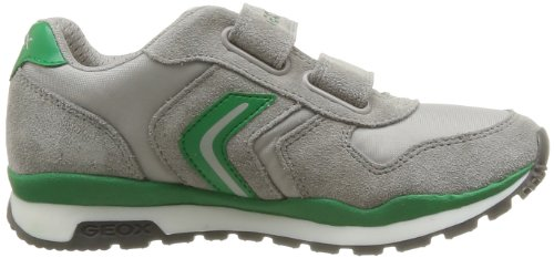 Geox Pavel, Sneaker Bambino Blu (Grey/Green)