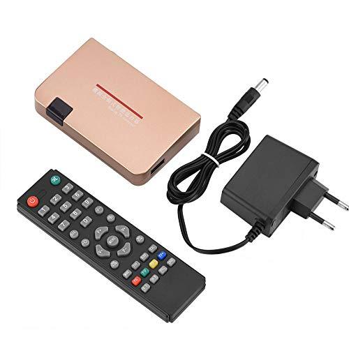 Denash RF zu HDMI All-Standard-Konverter Analog TV Receiver Adapter Fernbedienung 100-240V(eu Plug) Analog-tv