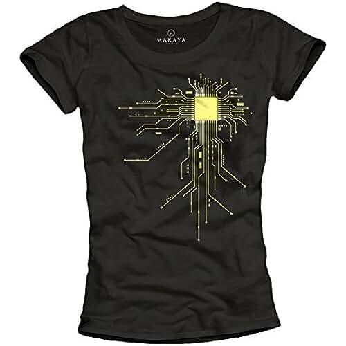 dia del orgullo friki Camisetas frikis para mujer - Gamer CPU