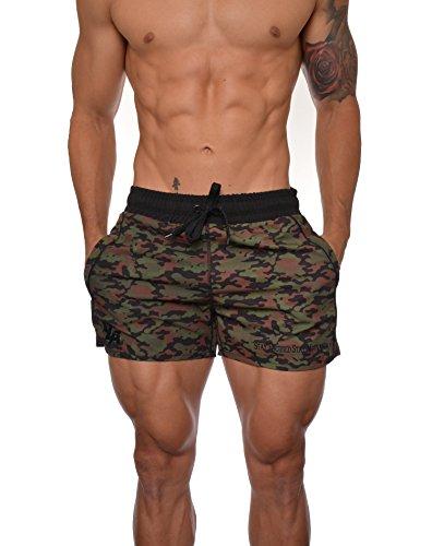 Youngla-Mens-Bodybuilding-Gym-Running-Shorts