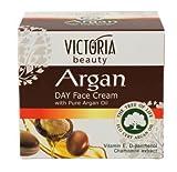 VICTORIA BEAUTY Gesichtscreme mit reinem Arganöl und Vitamin D und E für den täglichen Gebrauch, 50 ml