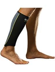 Select Wadenbandage - Protectores de pierna de receptor de béisbol, color negro, talla L