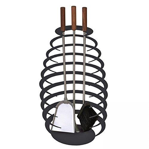 schindler-las-llanderas-21009232-accesorios-para-la-chimenea-3-teilig-redondo-negro-64-cm