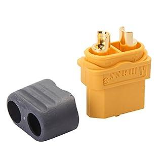 ILS - 10 Couples Amass XT60 Connector Plug Connector housing Sheath for DIY ESC Lipo Battery