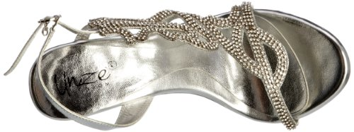 Unze Evening Sandals, Sandali donna Argento (Silber (L18229W))