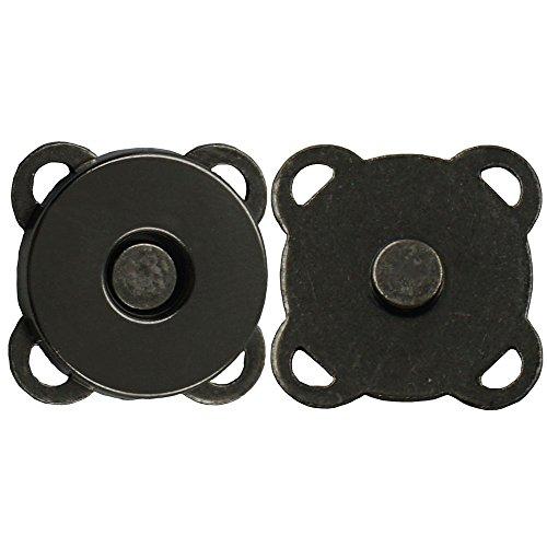 bluemoona 50Sets-Magnetisch Geldbörse Quincunx Snap 9/40,6cm 14mm Verschlüsse Verschluss Handtasche Size:14MM(9/16