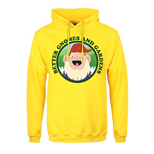 RealSlickTees Better Gnomes and Gardens Mens Hoodie