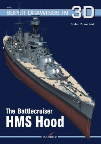 The Battlecruiser HMS Hood (Super Drawings in 3D) por Stefan Draminski