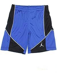 Jordan Boys Blue Solid Shorts