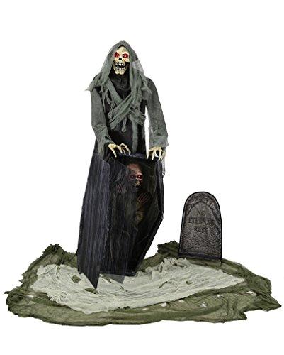 Graveyard Grim Reaper Halloween (Halloween Animatronics)