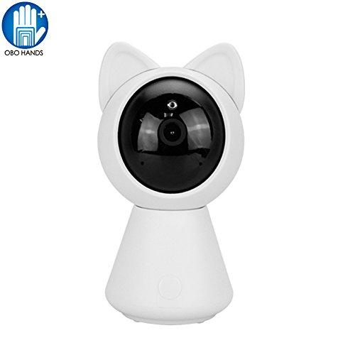 OBO HANDS Mini 960 p HD IP Wifi Kamera CCTV Sicherheit Wireless 360 Home Kamera Nachtsicht Spielzeug Roboter Baby Monitor (Baby-kamera-spielzeug)