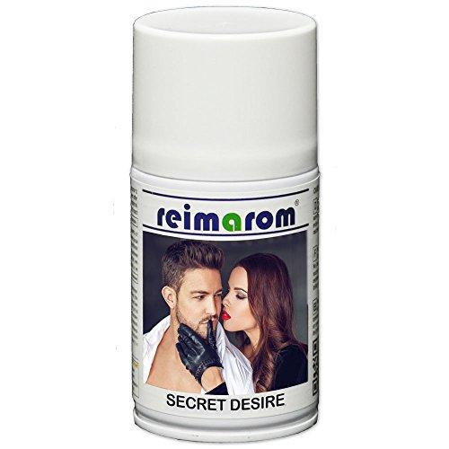 Duftspray Secret Desire für Aerosol Duftspender 250 ml - Edler hochergiebiger Parfümduft zur Raumbeduftung mit Geruchsneutralisator -