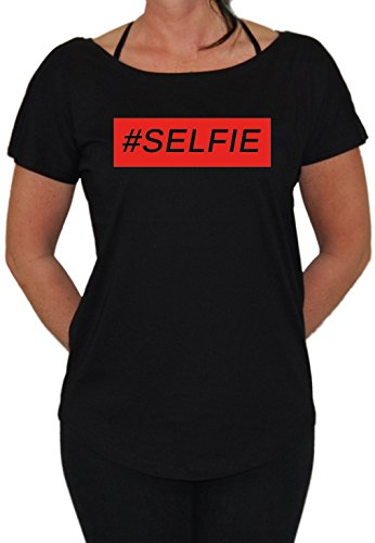 Selfi Loose Fit Girlie Schwarz