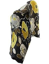 LAURA ASHLEY Monochrome Aztec Sleeveless Blouse Top RRP £28