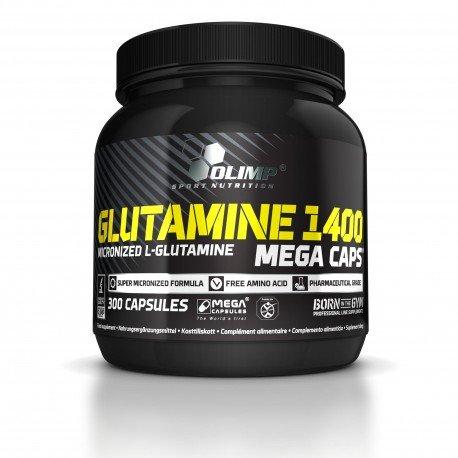 OLIMP SPORT NUTRITION L-glutamine 1400 Mega Caps 120 Capsules
