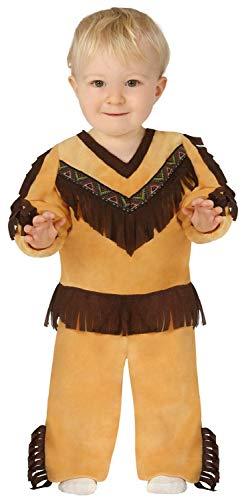 Fancy Me Baby Kleinkind Jungen Indianer-Kostüm Wilder Wester, 6-24 Monate