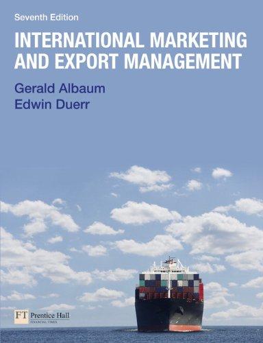 International Marketing & Export Management