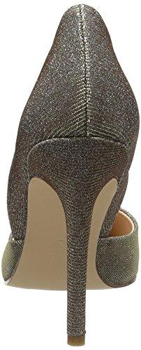 La Strada Champagne Shiny Pump, Chaussures à talons - Avant du pieds couvert femme Or - Gold (1843 - glitter champagne)