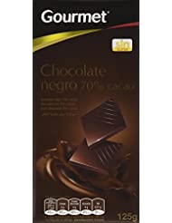 Gourmet Chocolate Negro 70% Cacao - 125 g