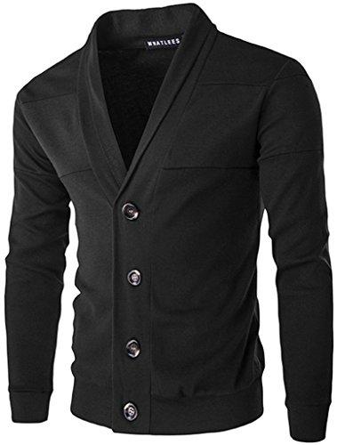 whatlees-unisex-hip-hop-urban-basic-basic-cardigan-cardigan-with-contrasting-inset-b195-black-m
