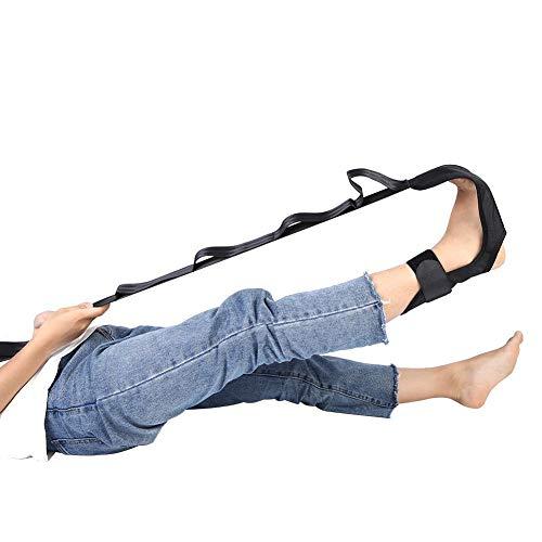 Knöchel Stretch Band & Yoga Stretching Gürtel, Fuß Orthesen Assist Fuß Drop Fascitis Plantar Knöchelorthese, Fitness Strap Leg Unterstützung für Dance Gym Zugentlastung Schmerzen des Fußes