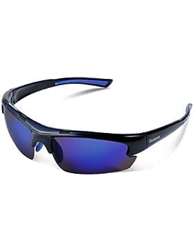 Duduma Sport Occhiali da Sole Polarizzati per lo Sci Golf Corsa Ciclismo  TR62 Super Leggero per 1467cec3c155