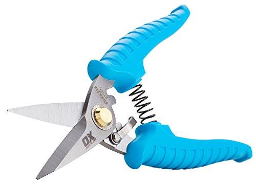 OX Tools P233001 Pro Snips, Bleu