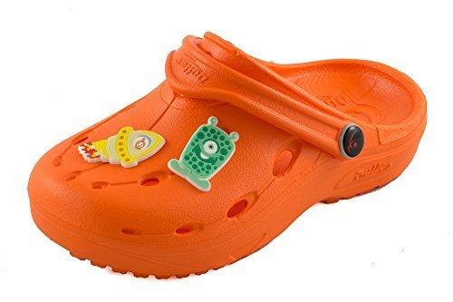 Chung Shi DUX Kids Schuh-Shibit-Set 7910090 Unisex-Kinder Clogs, Orange, 34/35