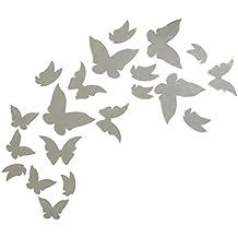 "Soledì- Murales Adesivi ""Specchio 20 Farfalla Farfalle"