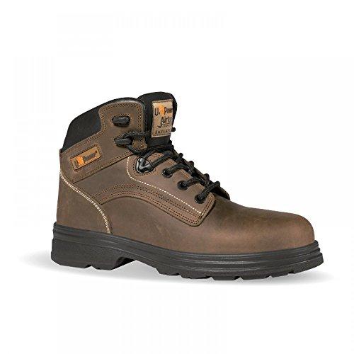 U-di alimentazione: Tribal S3 Stivali di sicurezza con protezione antitaglio per motosega, tipo marrone - marrone