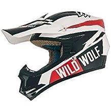 Casco Shiro Mx-306 Wild Wolf Kids