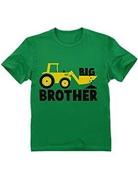 Camiseta para niños - Big Brother - Regalo Original de Cumpleaños para Niños Que Son Hermanos Mayores con Estampado...