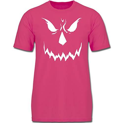 Anlässe Kinder - Scary Smile Halloween Kostüm - 140 (9-11 Jahre) - Fuchsia - F130K - Jungen Kinder T-Shirt