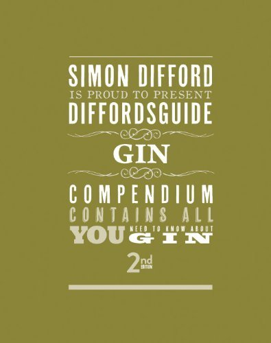 Diffordsguide Gin by Difford, Simon (2013) Hardcover