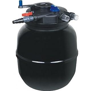 AQUARISTIKWELT24 CPF 50000Bio Pressure Pond Filter 100.000l Pond Filter Stream Includes 55Watt UVC Clarifier