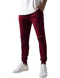 Urban Classics Herren Hose Cutted Terry Pants