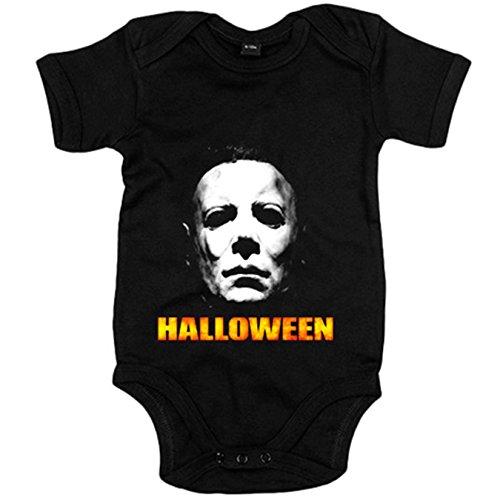 Body bebé Halloween película - Negro, 12-18 meses