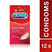 Durex Feel Thin Condom - Pack Of 12
